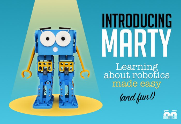 Marty The Robot Makes Learning About Robotics Easy
