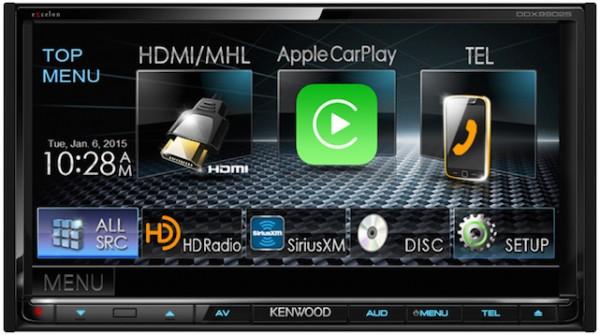 CES 2015: Kenwood aftermarket CarPlay display; VW cars get CarPlay in 2015