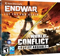 Tom Clancy End War w/World in Conflict