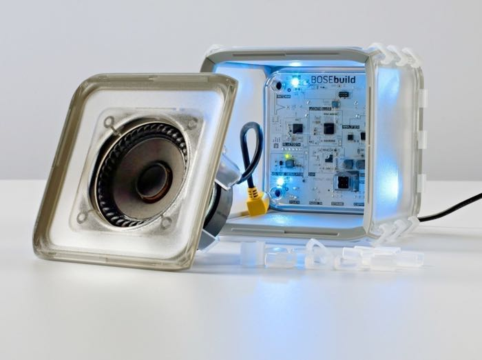 BoseBuild Build It Yourself Speakers For Kids Announced