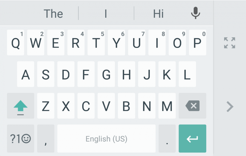Google Keyboard 5.0 for Android Received One