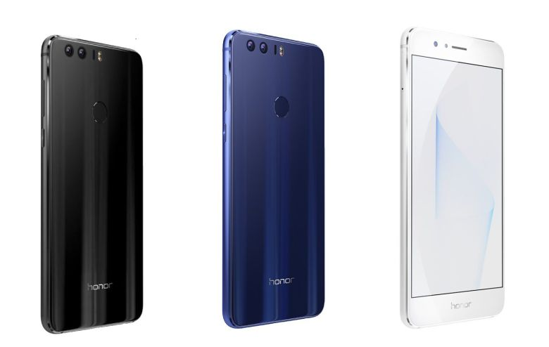 Honor 8 pre-orders in the US begin August 17 with a free $50 gift card