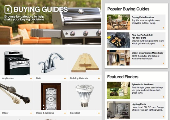 home-depot-buying-guide