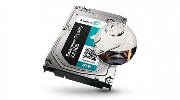 Seagate starts shipping 8TB hard drives