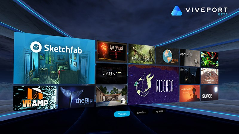 HTC Viveport VR App Store Going Global
