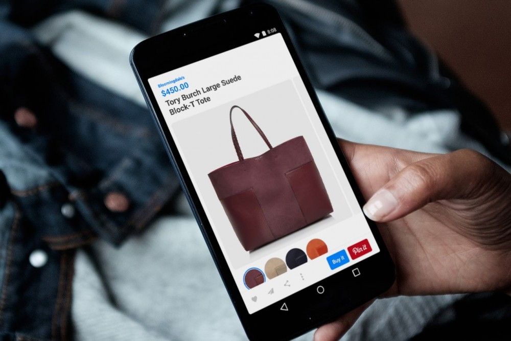 Pinterest launches dedicated shopping section