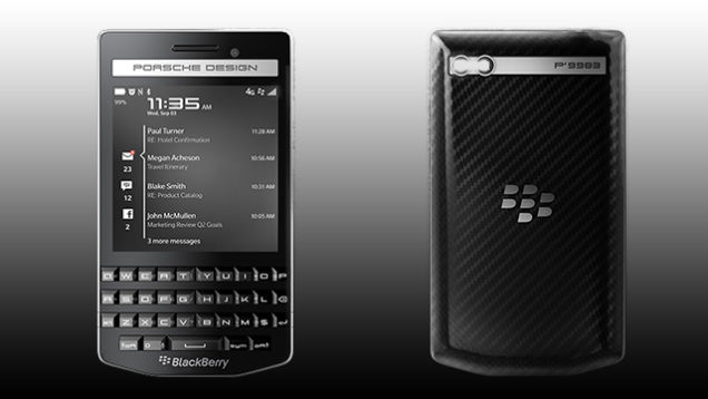 BlackBerry Reminds Us It Still Exists With New Porsche Design Phone