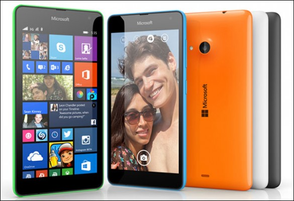 Microsoft Makes Lumia 535 Its Own