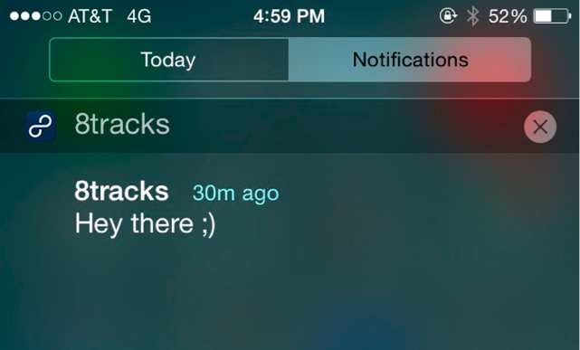 This app notification is a new breed of obnoxious