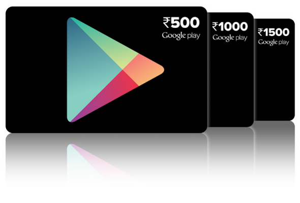 Google Play vouchers arrive in India