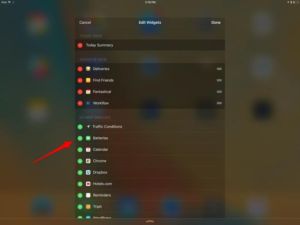 See how much battery your Apple Pencil has left