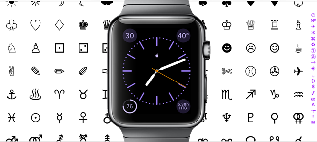 Add Custom Characters to the Apple Watch's Monogram
