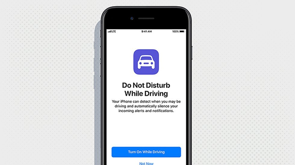 Soon your iPhone won't let you text while you're driving
