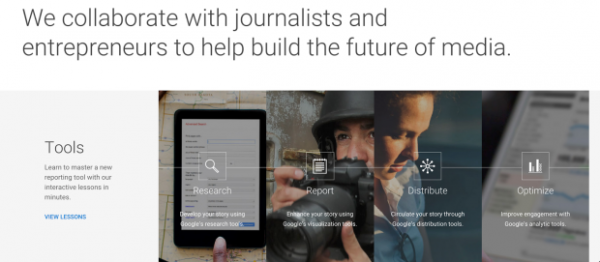 Can Google improve journalism? 'News Lab' arms reporters with new tech tools