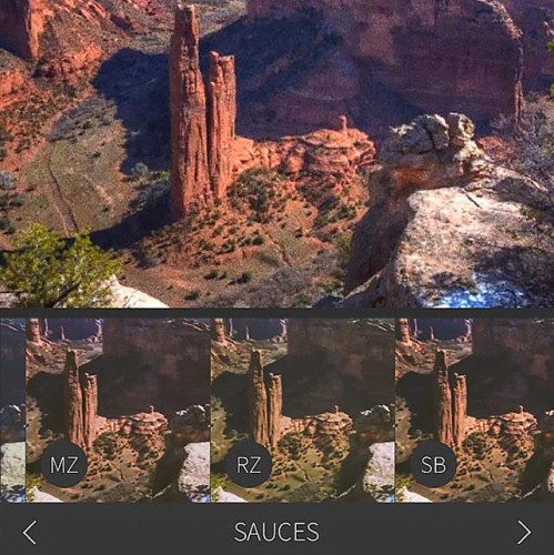 RebelSauce for iOS has a lot of tasteful filters
