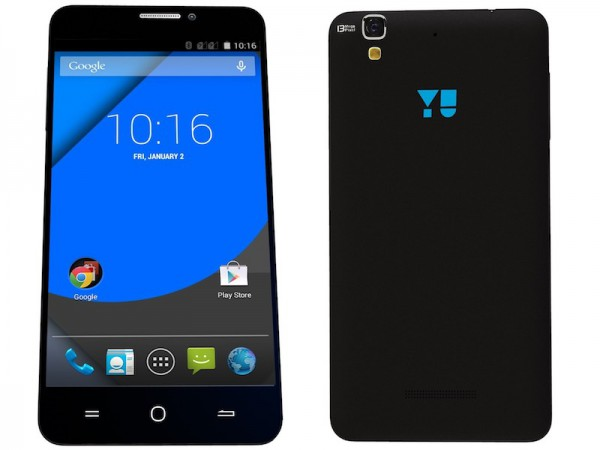 Yu Yureka Plus With Android – Not Cyanogen OS – Available via Amazon at Rs. 8,999