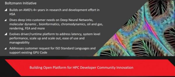 AMD's Boltzmann Initiative targets the high-performance computing market