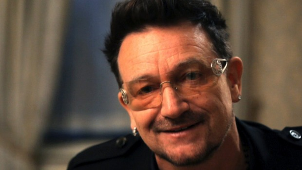 Bono's mea culpa on U2's spam album