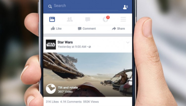 Facebook to show 360-degree videos on news feeds