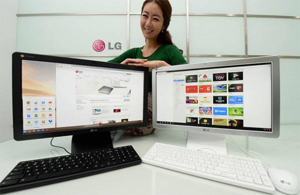 LG to showcase Chromebase AIO PC at CES 2014