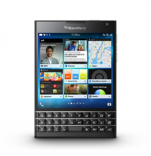 BlackBerry announces Passport phone with touch-enabled QWERTY keyboard
