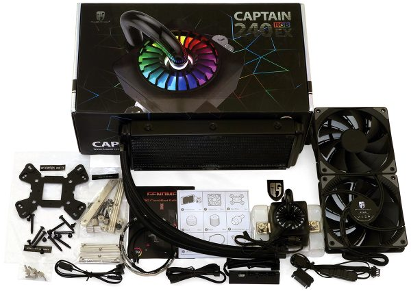 Deepcool Gamer Storm Captain 240EX RGB