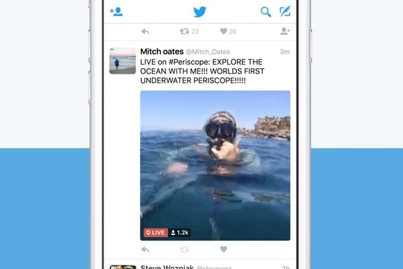 Periscope live streams arrive inside Twitter, no separate app required