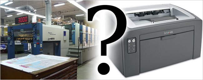 What's the Difference Between Desktop and Professional Printers?