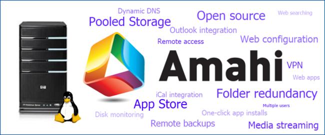 Upgrade your Windows Home Server with Amahi