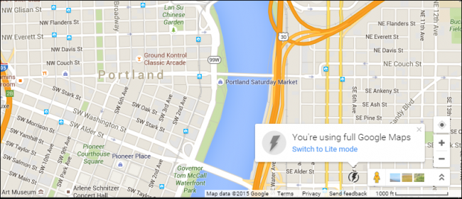 """What is Google Maps """"Lite"""" Mode, and Should I Use It?"""
