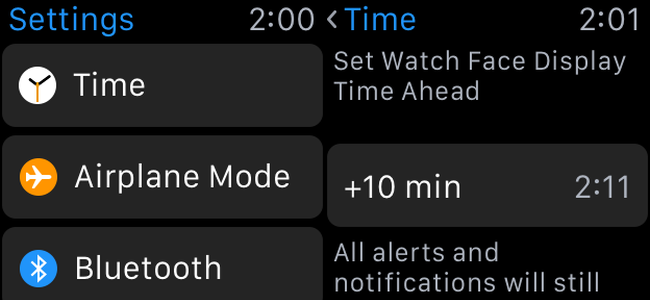 How to Set Your Apple Watch a Few Minutes Fast