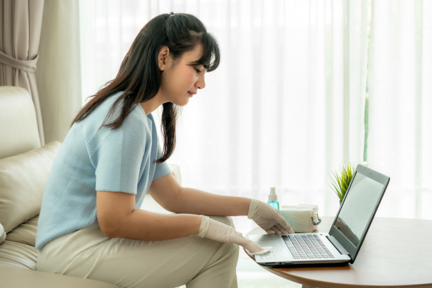 Disinfecting a Laptop: Do It without Ruining It!